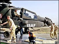 Dutch Apache in Afghanistan