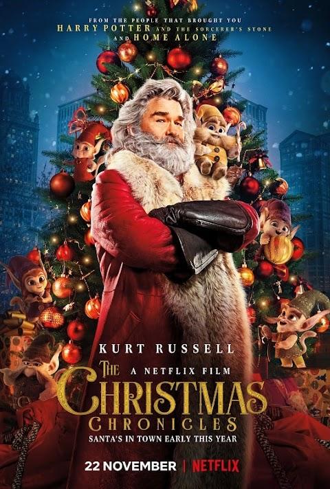 The Christmas Chronicles (2018) 480p 720p 1080p Web-DL Dual Audio (Hindi+English)   Netfix Film