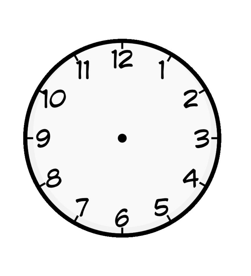 Saat şablonları Ve Saat Boyama Sayfaları Sınıf öğretmenleri Için