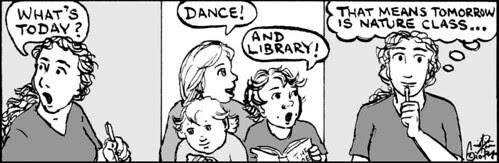 Home Spun comic strip #497