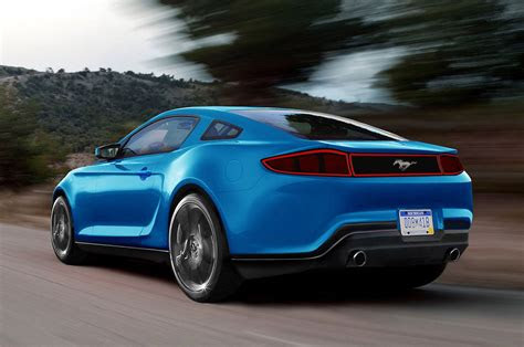 ford mustang release date  redesign