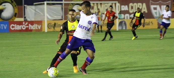 Globo FC x Bahia (Foto: Diego Simonetti/Blog do Major)