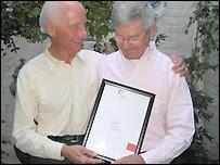 Roger Lockyer and Percy Steven