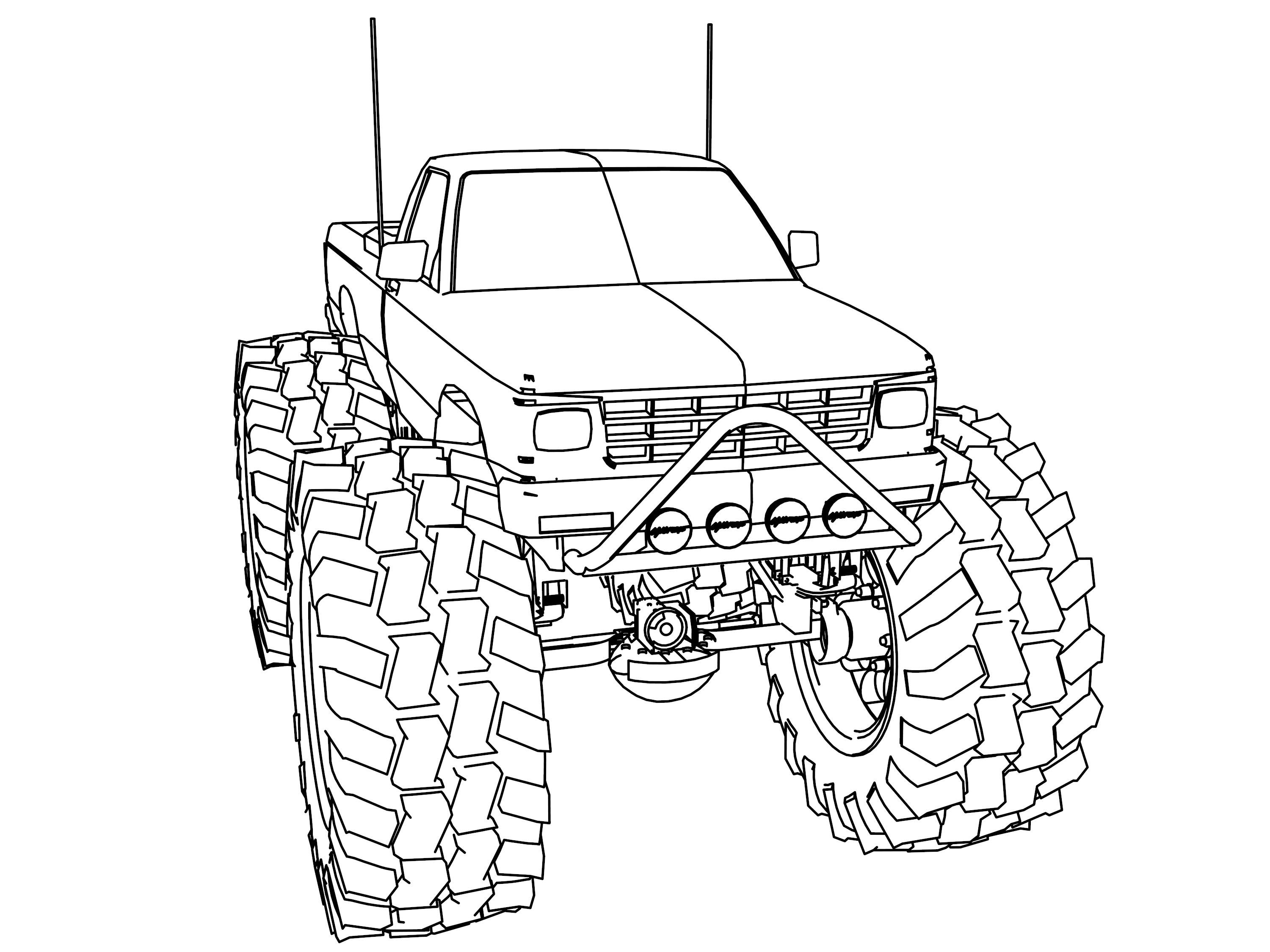 Truck Drawing Images at GetDrawings | Free download
