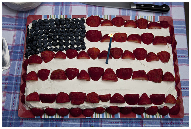 Patriotic Food Art