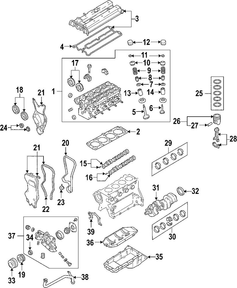 2000 Suzuki Grand Vitara Belt Diagram