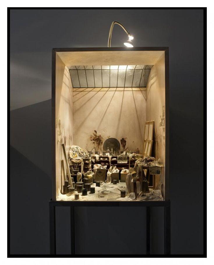 Charles Matton : Francis Bacon's studio.