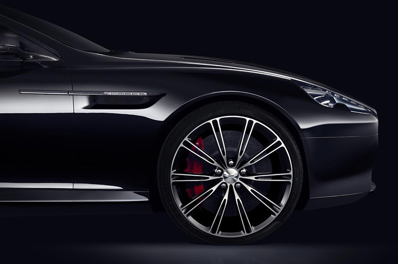 db9carbon black front quarter panel IIHIH
