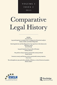 Lay participation in modern law: a comparative historical analysis