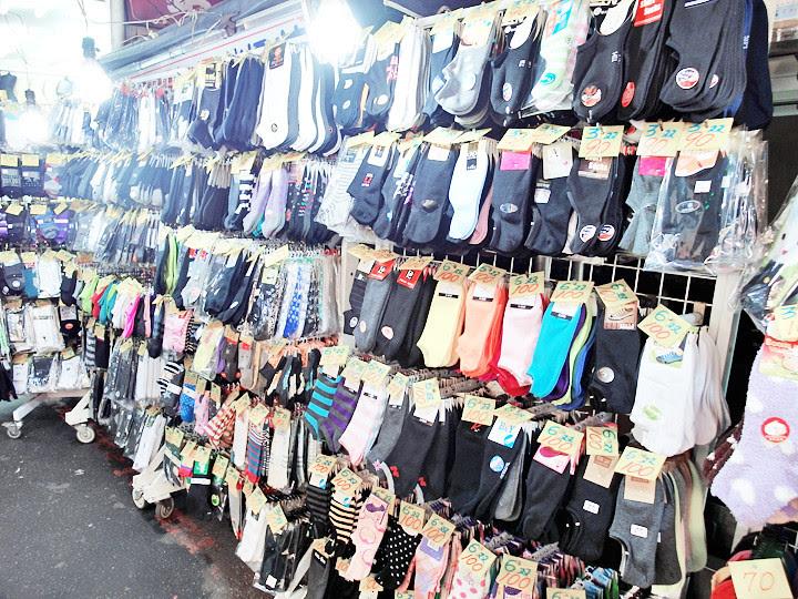 Shilin Night Market socks