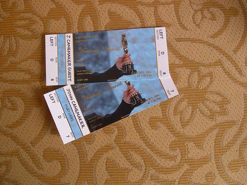 Oscar tickets