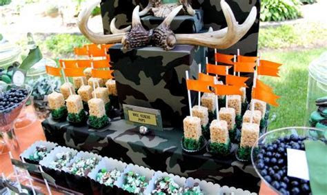 Hunting Theme Birthday Party   Birthday Party Ideas & Themes