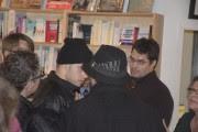 L'auteur de l'entartage serait l'homme au bonnet noir,... (Photo fournie par La Vie agricole, Yannick Patelli) - image 2.0