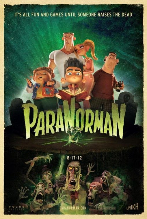 The new 3D stop-motion comedy thriller from animation company LAIKA, reteaming the company with Focus Features after the groundbreaking Academy Award-nominated Coraline. ParaNorman is, following Coraline, the company's second stop-motion animated feature to be made in 3D. In ParaNorman, a small town comes under siege by zombies.