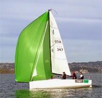J/70s sailing on San Francisco Bay
