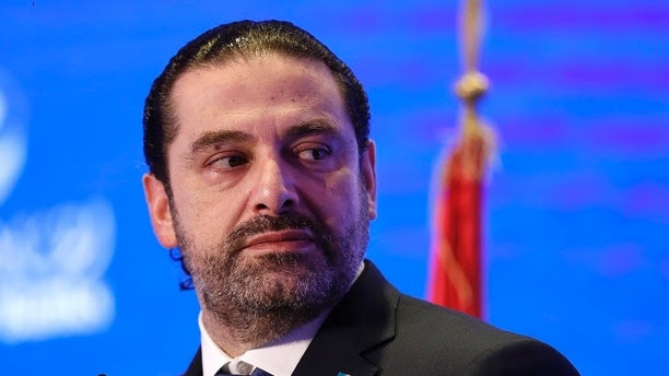 Lebanese Prime Minister Saad Hariri speaks during a regional banking conference, in Beirut, Lebanon, Thursday, Nov. 23, 2017. Hariri told the conference that the country's stability is his primary concern. The remarks, a day after Hariri suspended his resignation, sought to assure the Hariri's government would keep up the effort to have Lebanon remain a top Mideast destination for finance. (AP Photo/Hussein Malla)