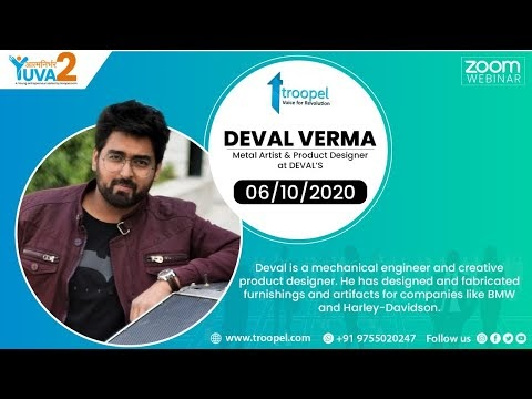 Aatmnirbhar Yuva - A young entrepreneur Series | Deval Verma, Metal Artist