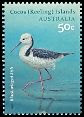 Cl: White-headed Stilt (Himantopus leucocephalus) SG 435 (2008)  [4/44]