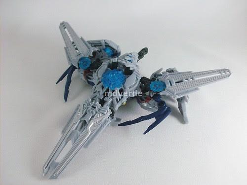 Transformers Soundwave RotF Deluxe - modo crucero espacial