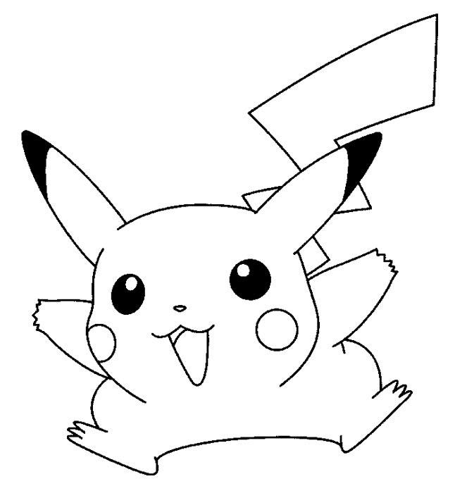 81 Dibujos De Pikachu Para Colorear Oh Kids Page 8
