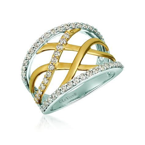 Marshall Jewelry: Le Vian 14K Two Tone Gold Ring