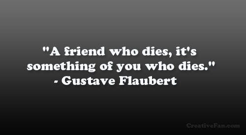 Sad Quote About Losing A Friend Quote Number 615333 Picture Quotes