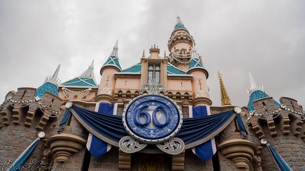 Disneyland Resort, Disneyland60, 60, Anniversary, 24, Hour, Party, Celebration, Kick, Off, Disneyland, Sleeping, Beauty, Castle, Diamond, Bling, Dazzle