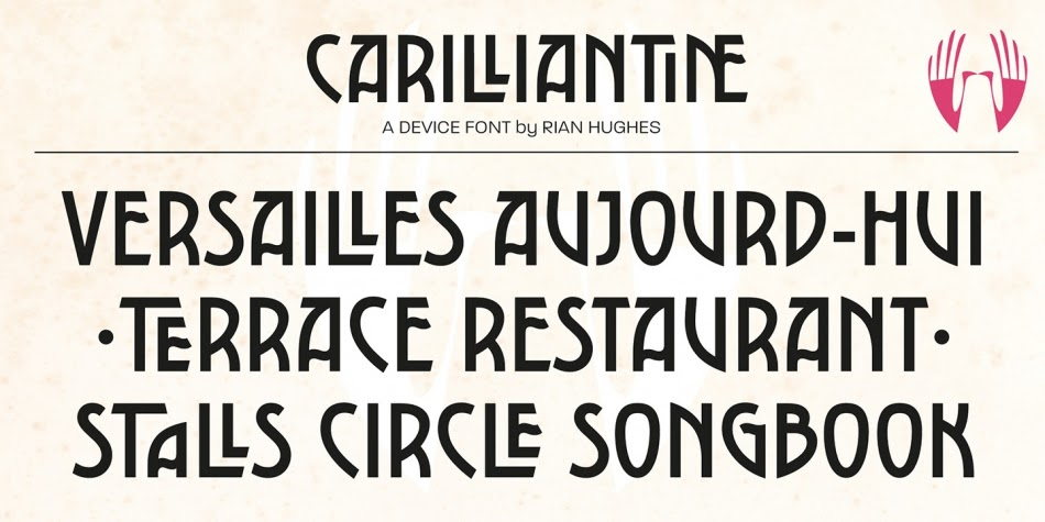 Download Carilliantine Font Family From Device