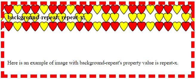CSS Background-repeat-x - ElseBazaar