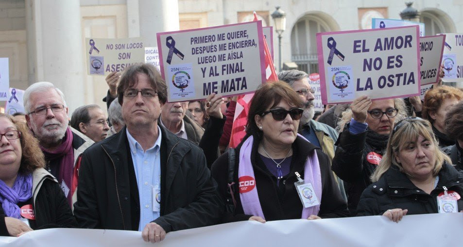Durante 2015 murieron 57 mujeres por violencia de género, tres más que en 2014