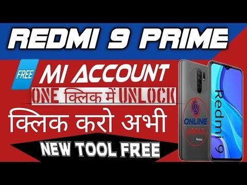 Redmi 9 prime mi account file download latest free auth tool softichnic