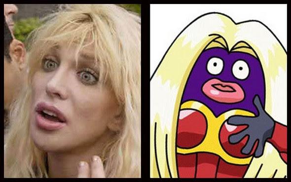 celebrities that look like pokemon 08 in Celebrities and Pokemons Similarity