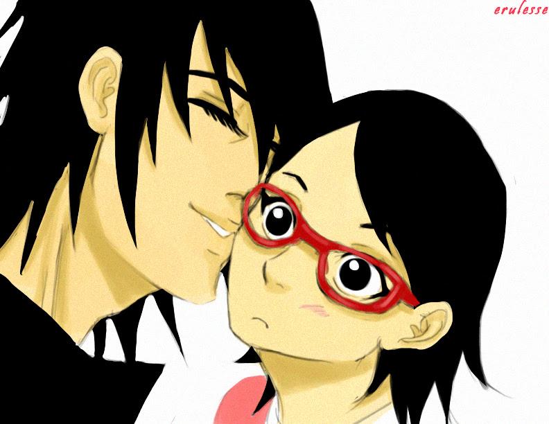 Sasuke and Sarada by Erulesse on DeviantArt