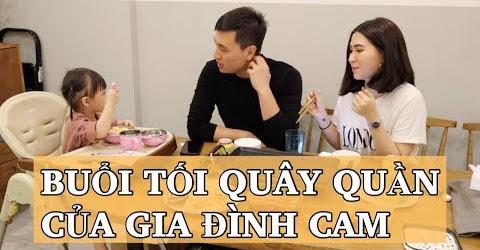 Buổi tối quây quần của nhà Cam | Làm đồ nướng | Chơi đồ hàng | Vlog 53