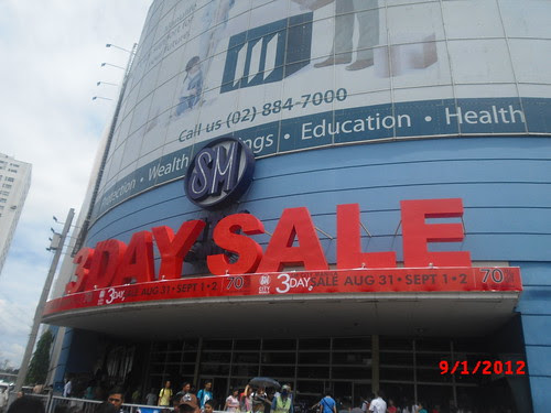 SM City Manila 3 Day Sale KNT
