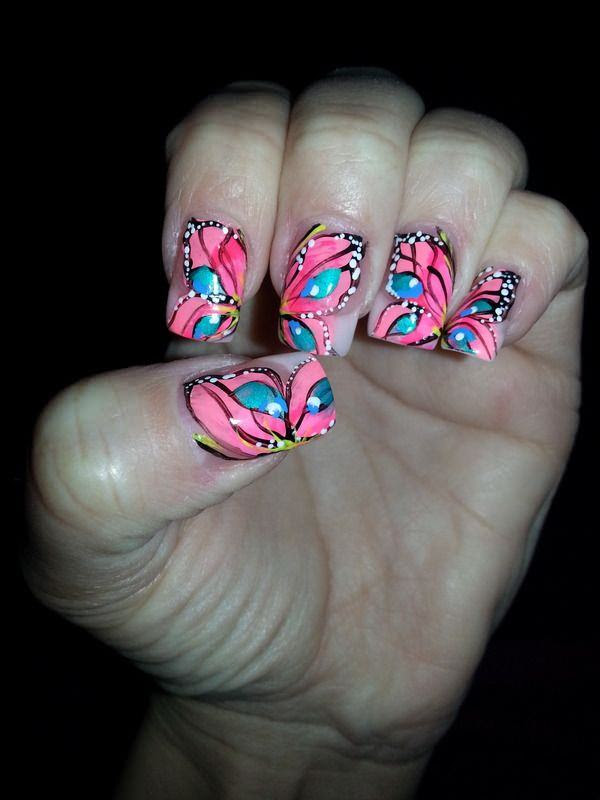 17-unhas-decoradas com-borboletas---14