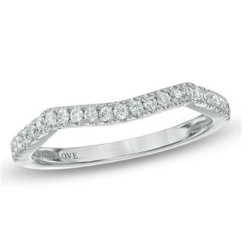 Vera Wang Love Collection 1/5 CT. T.W. Diamond Contour