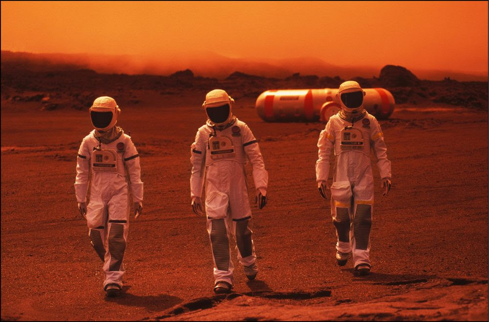 Astronaut blood can be used to make concrete on Mars, scientists say
