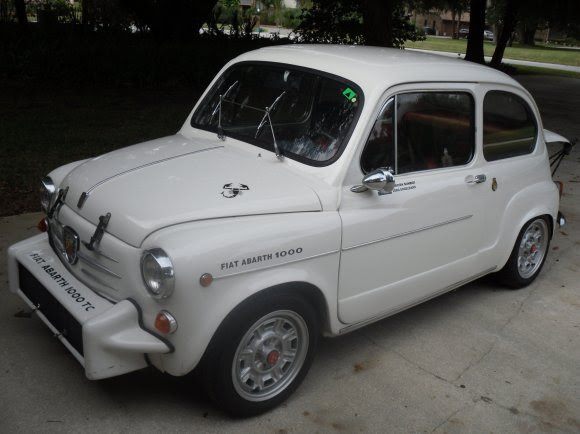 Fiat 850 Abarth 1000 For Sale Driver Front