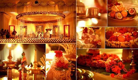 my wedding stage and decor.hindu kerala wedding