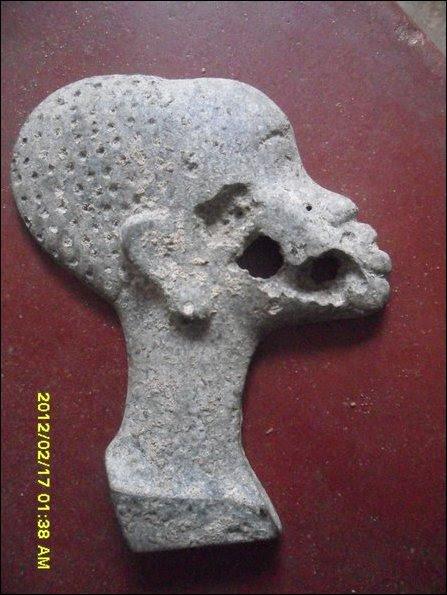 African sculpture found in Jaffna
