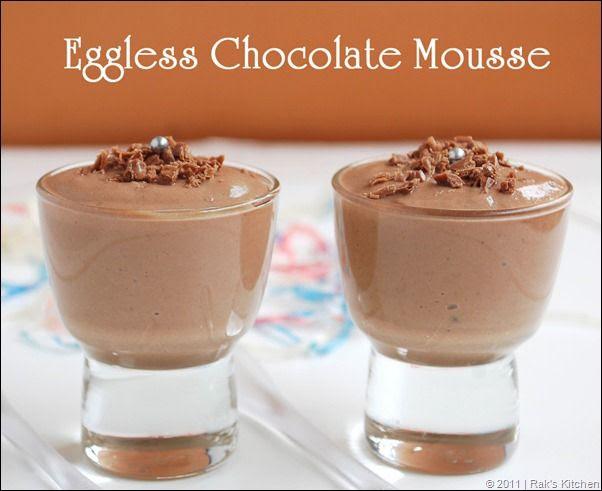 Eggless Chocolate Mousse Recipe — Dishmaps