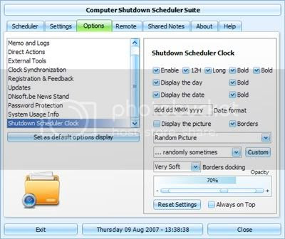 Windows Shutdown/Restart Scheduler Software