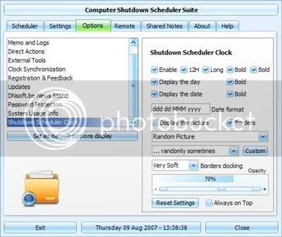 Windows Shutdown/Restart Scheduler Software