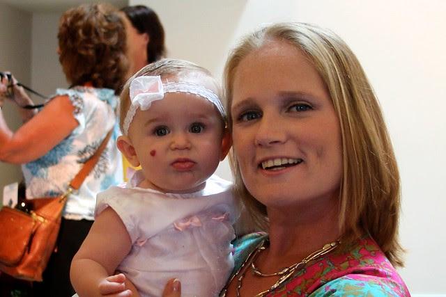 Scarlett's Baptism July 2012 2