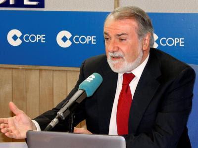 Jaime Mayor Oreja en una reciente entrevista en la COPE/EFE
