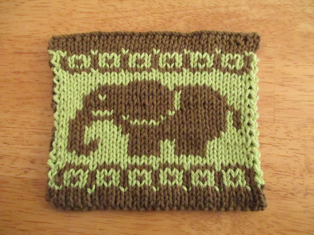 Elephant Potholder