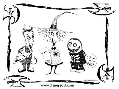 Jack And Sally Coloring Pages At Getdrawingscom Free For Personal
