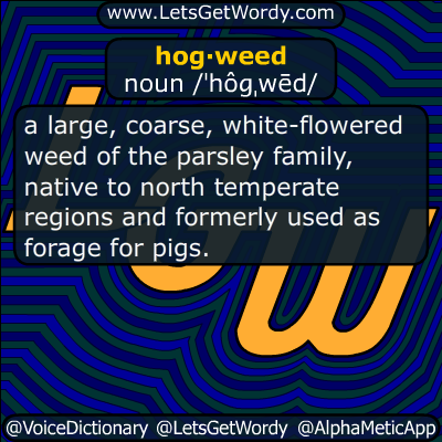 hogweed 07/14/2018 GFX Definition