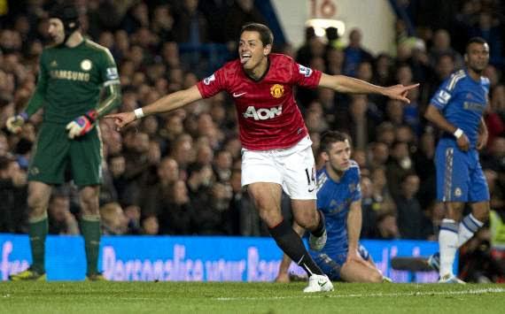 Javier Hernandez - Chelsea-Manchester United